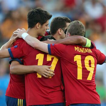 España hace pleno y se medirá a Noruega en semifinales