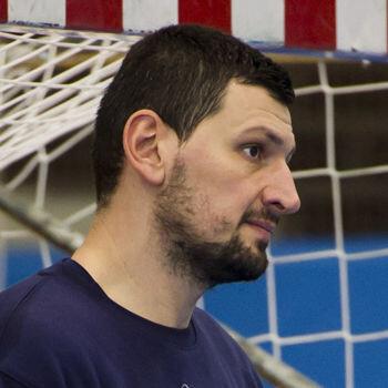 Arpad Sterbik, portero de la selección española de balonmano