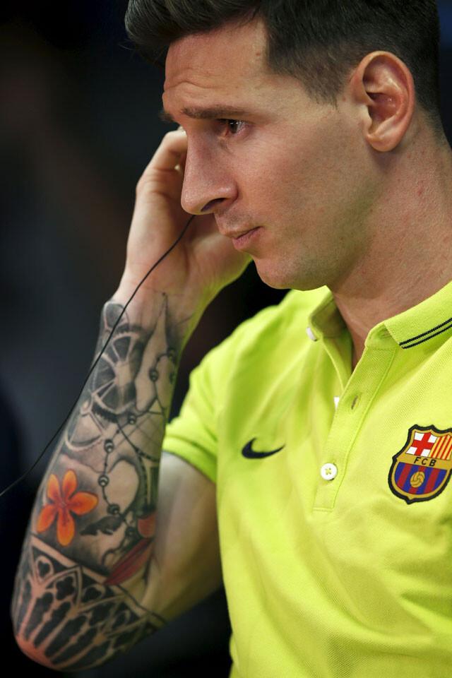 Leo Messi y su espectacular tatuaje