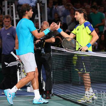 Rafa Nadal y David Ferrer