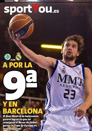 EUROLIGA FINAL FOUR. 3º y 4º puesto: Montespachi Siena- Real Madrid 06